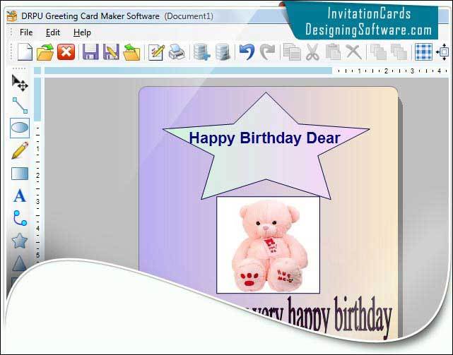 Greeting Designing Software