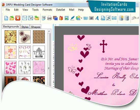 Software Wedding Invitations: Download Free Wedding Card Software By Invitation Cards