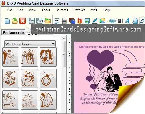 Windows 7 Wedding Cards Designing Software 8.2.0.1 full
